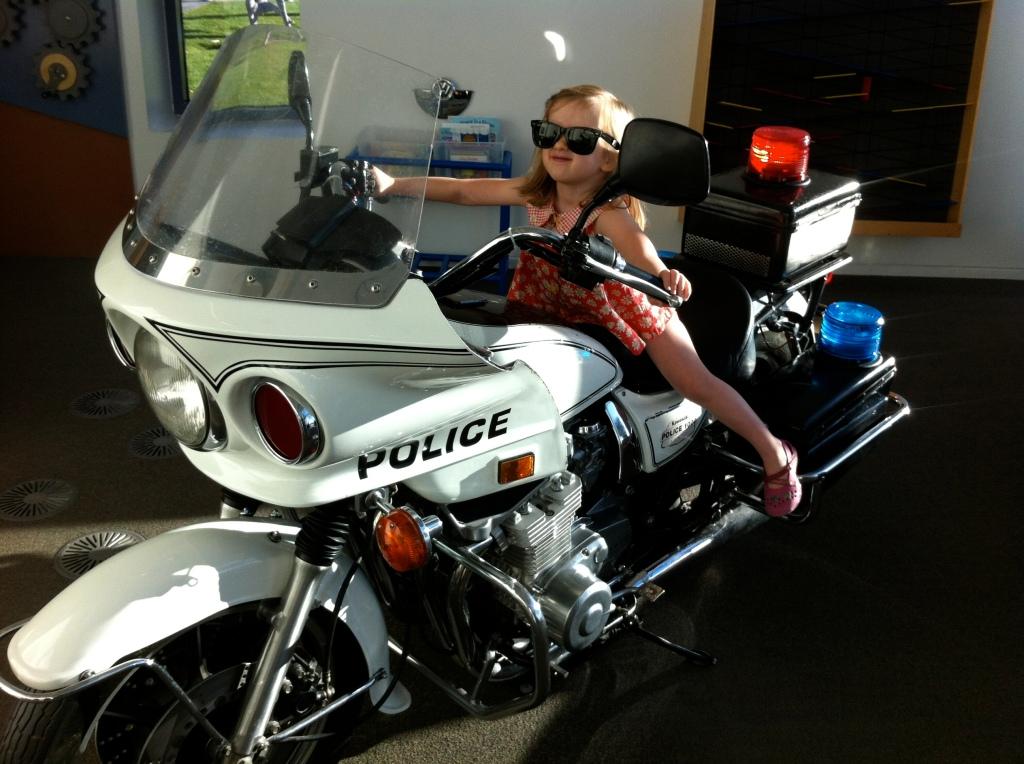 R's cool rider.