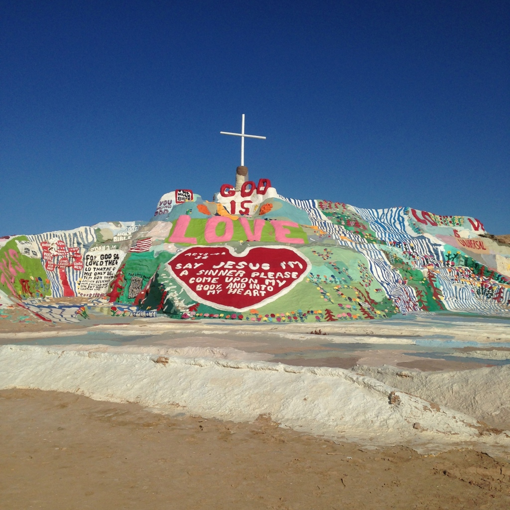 Salvation Mountain. March 2015.